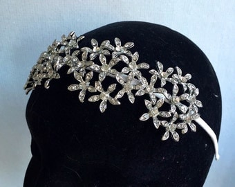 Bridal headband  - Bridal headpiece - Bridal headband - wedding tiara - Wedding headband - Flower headband- Hair jewellery- wedding