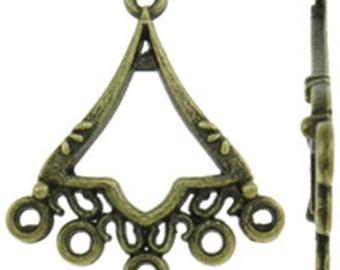 4pc antique bronze Chandelier Component-9313w