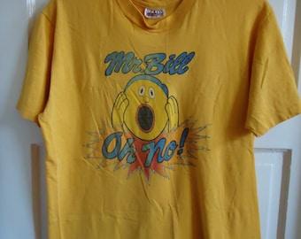 Vintage 70s MR BILL T Shirt sz S/M