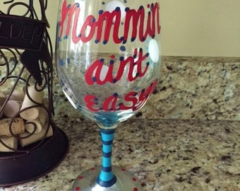 Mother's Day Wine Glassses