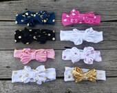 Baby Girl Headband, Baby Headbands, Knot Headband, Bow Head band, Turban Headband, Baby Bows, Toddler Headband, Girl Headband, Knot Bow,Girl