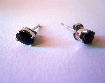 Sapphire Earrings from India.