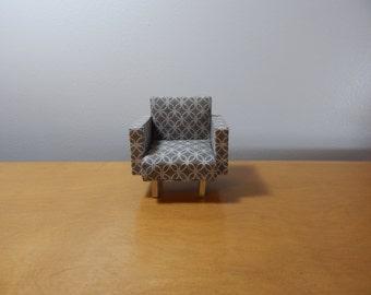Miniature 1:12 Scale Modern Chair