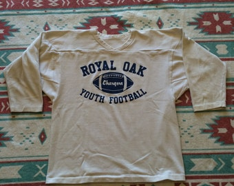 Vintage Royal Oak Youth Football Russell Athletic Sports Shirt