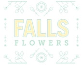 Brand and Identity for Florist - logo, business cards, and look book design
