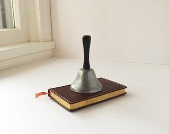 Small Vintage Teacher's Bell, Desktop Bell, Tea Bell, School Teacher's Bell Bevin USA