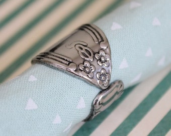 Spoon Ring Band - Size 7