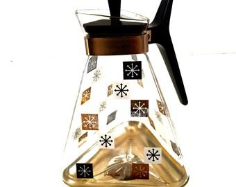 Vintage Mid Century Coffee Carafe