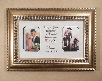 mother wedding gift personalized wedding gift parents bride gift to mom custom picture frame groom gift bride gift marriage gift 11x 16