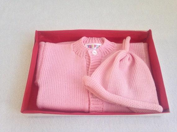 Free Baby Gifts Uk : Items similar to baby girl cardigan gift set