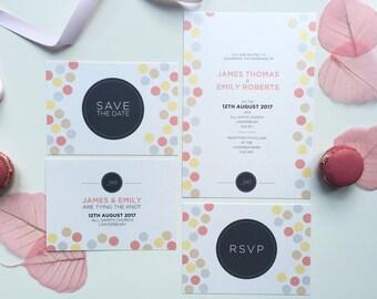 Confetti - Wedding Stationery Set
