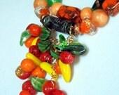 Fruit Basket Necklace 2475j