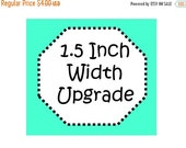 Sale 50% Off Upgrade! 1.5 Inch Width Collar