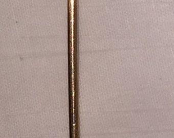 Victorian Bird Stickpin Antique Victorian Edwardian Figural Bird Stickpin