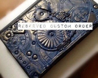 Reserved Custom Wedding Guest Book
