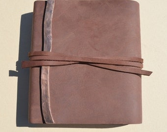 Custom Order Leather Bound Diary Lined Journal Travel Notebook(467)