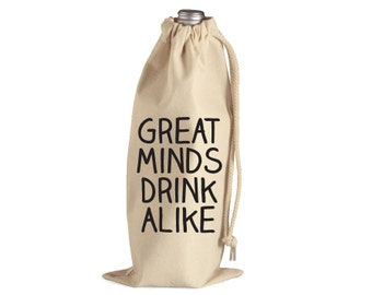 Great Minds Drink Alike // Party Gift // Housewarming