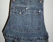 Silver Jeans company women's denim bell bottom overalls Small / Medium