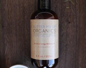 Organic Shampoo Natural Clay Essential Oil Healthy Hair Shine Shampoo