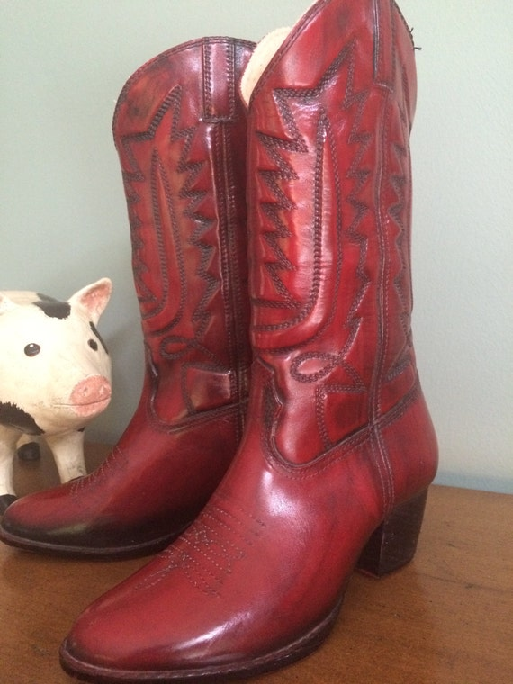vegan cowboy boots faux leather cowboy boots