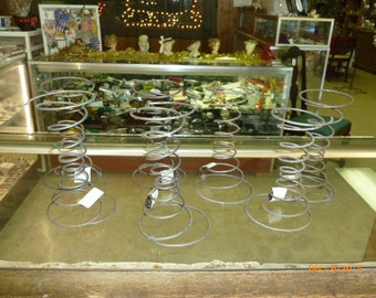 Old Rustic Spring Mattress Coils Craft