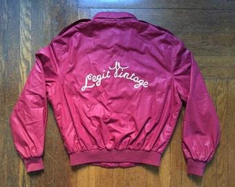 legit vintage X members only jacket size 42
