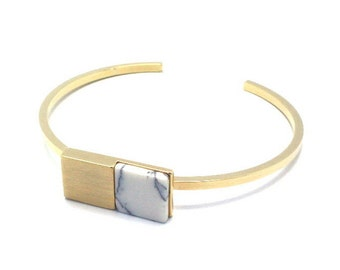 302 Block bracelet (GOLD)