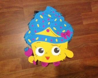 Shopkins Cupcake Pinata