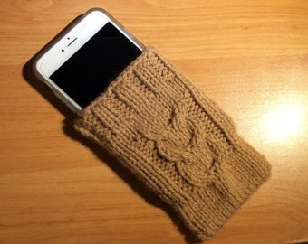 Knitted iPhone6 PLUS Sock - Cozy for iPhone6 PLUS