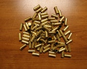Empty, spent .22 caliber Federal ammo brass shells for crafting and jewelry. lot of 103 pieces