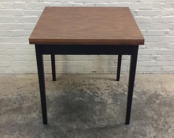 """Mid-Century Modern Dining  / Card Table 30"""" x 30"""" Opens To 30"""" X 60"""" - SHIPPING NOT INCLUDED"""