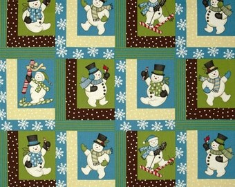 Sweetie Pie Snowmen by Wilmington Yardage REDUCED