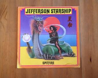 """Spitfire by JEFFERSON STARSHIP Vintage Vinyl (1976) Grunt Records 12"""""""