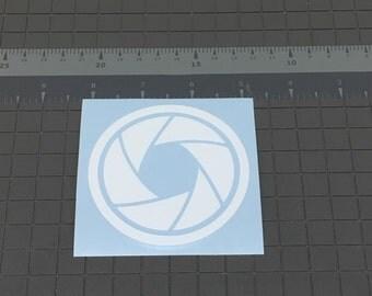 Aperture Blades Sticker