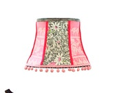 Large Pink Lamp Shade: Pi...