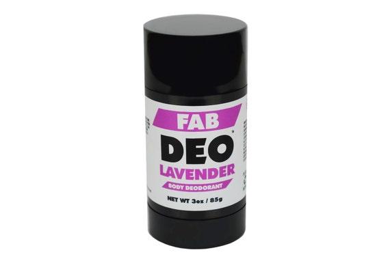 LAVENDER Natural Deodorant Deoderant Stick Vegan