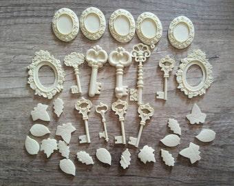 ornamental cameo resin