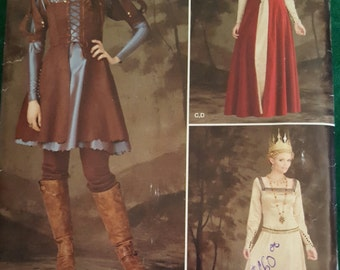 Medieval Womens & Renaissance Costumes Custom made