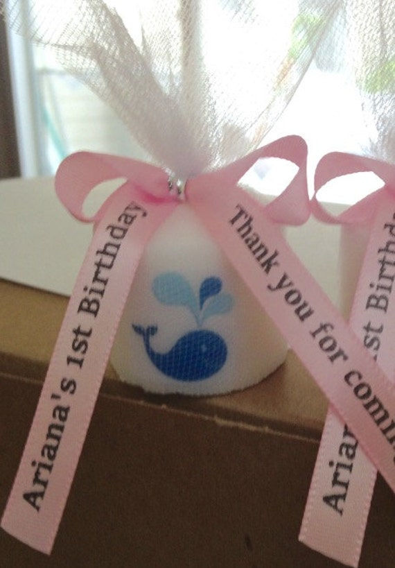 baby shower favors under the sea shower favors grey and pink themed