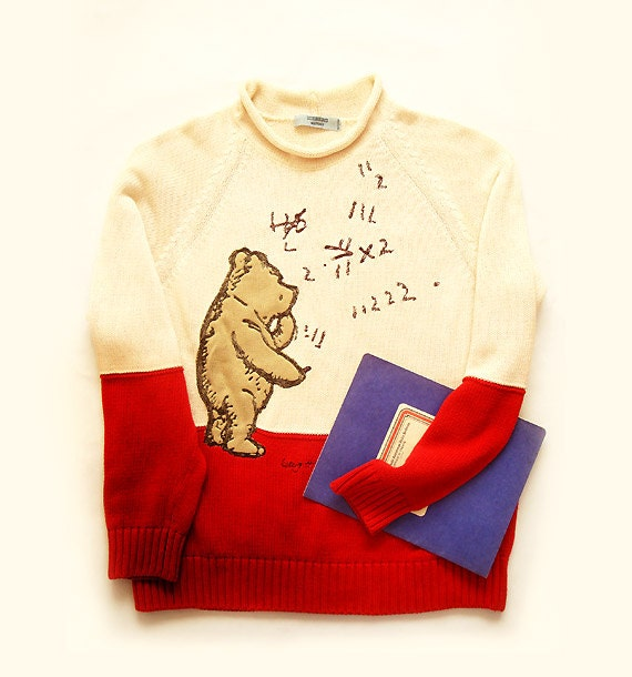 authentic iceberg history sweater winnie the pooh reserved