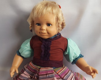 Charity Shop Rescue Large Blonde Doll