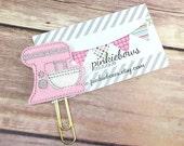 Pink/Gold/Mixer/Applique Paper Clip/Journal Marker/Planner Clip