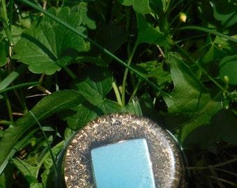 B4 Energy Art Mirrored Square Orgone Chi Ki Prana life force energy Tiny Tower Bomb!