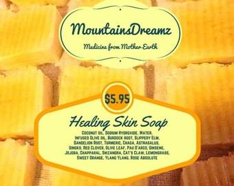 Herbal soap, Handmade soap, Healing Skin soap