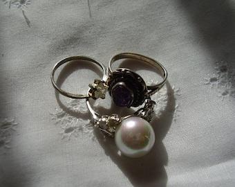 SALE/Sterling Silver Ring Destash
