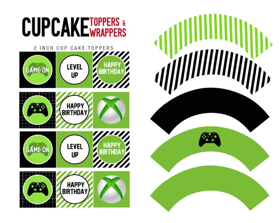 Video Game Birthday Cake Toppers
