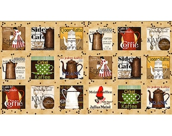 DAILY GRIND from Quilting Treasures - BTY - item #21672-A