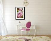 Pink Flower Print, Fine Art Print, Nature Photography, Wall Art, Flower, Wall Decor, Home Decor, Floral, Outdoor, Art Collection