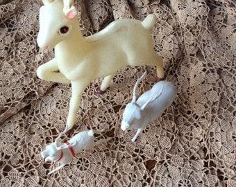 Vintage Reindeer Set of Three