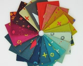 Handcrafted Fat Quarter Bundle - Alison Glass for Andover - 18 Fat Quarters - 4.5 Yards Total